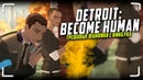 Трешовые фанфики по Detroit Become Human Читаем яойный фанфик про Коннора