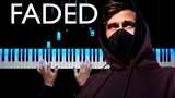 Alan Walker - Faded Piano cover Sheets
