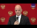 Церемония передачи Катару статуса организатора ЧМ по футболу