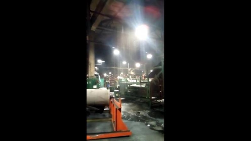Потоп на шинном заводе