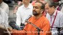 Swami Pranavamritananda Puri singing 'Hare Murare'