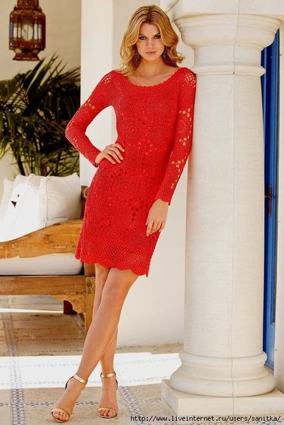Красивое платье на лето (6 фото) - картинка