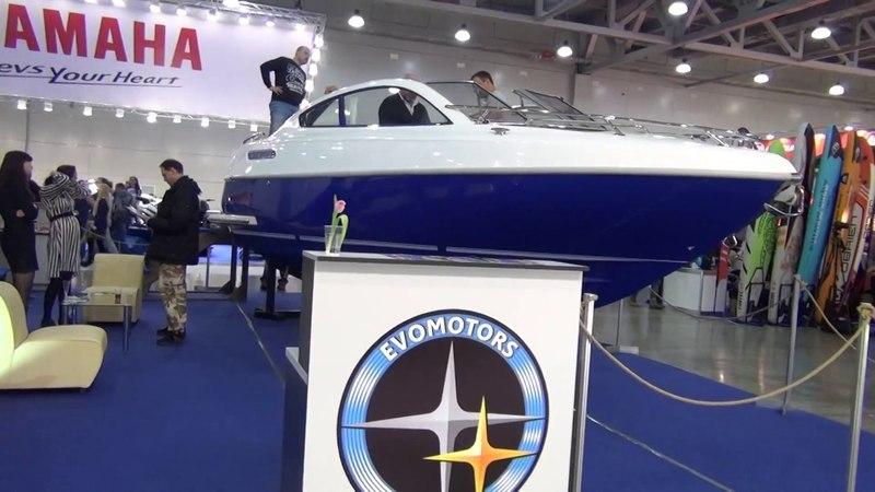 Moscow Boat Show/2 часть/УРА! SIRIUS от EVOMOTORS!