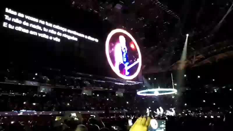 U2 Gig Lisbon 16.09.18 part 2
