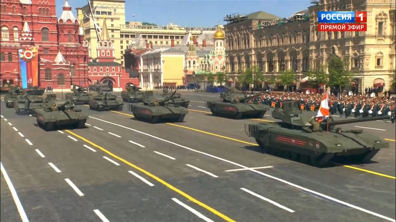 ☆За Родину ☆ Россия сильнее любого агрессора Прохождение техники День Победы 9 Мая 2018 г Москва