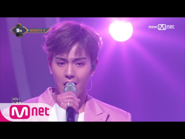 [MONSTA X - Beautiful] KPOP TV Show   M COUNTDOWN 170511 EP.523