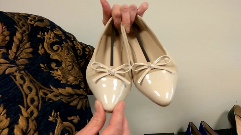 Репортаж из офиса пр. Гагарина 1-8 Златоуст. Новинки обуви Faberlic: балеткитуфли Элеганс.