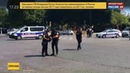 Новости на Россия 24 Автомобиль протаранил фургон жандармерии на Елисейских полях
