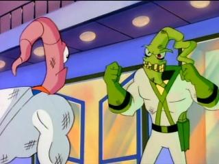 Earthworm Jim 1.5 Злобный двойник (Сезон 1, серия 5)