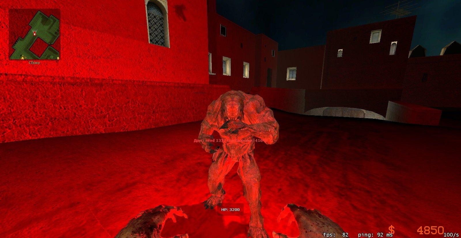 [CS:S] Зомби видят свои руки/ногти для CSS Sourcemod [Zombie Reloaded]