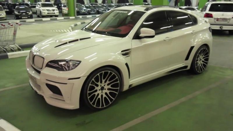 BMW X6 HAMANN WHITE