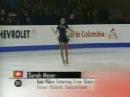 Sarah Meier 2000 J.World Championships LP Miss Saigon