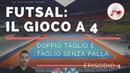 Futsal Il gioco a 4 EP 4 Doppio Taglio e Taglio senza palla