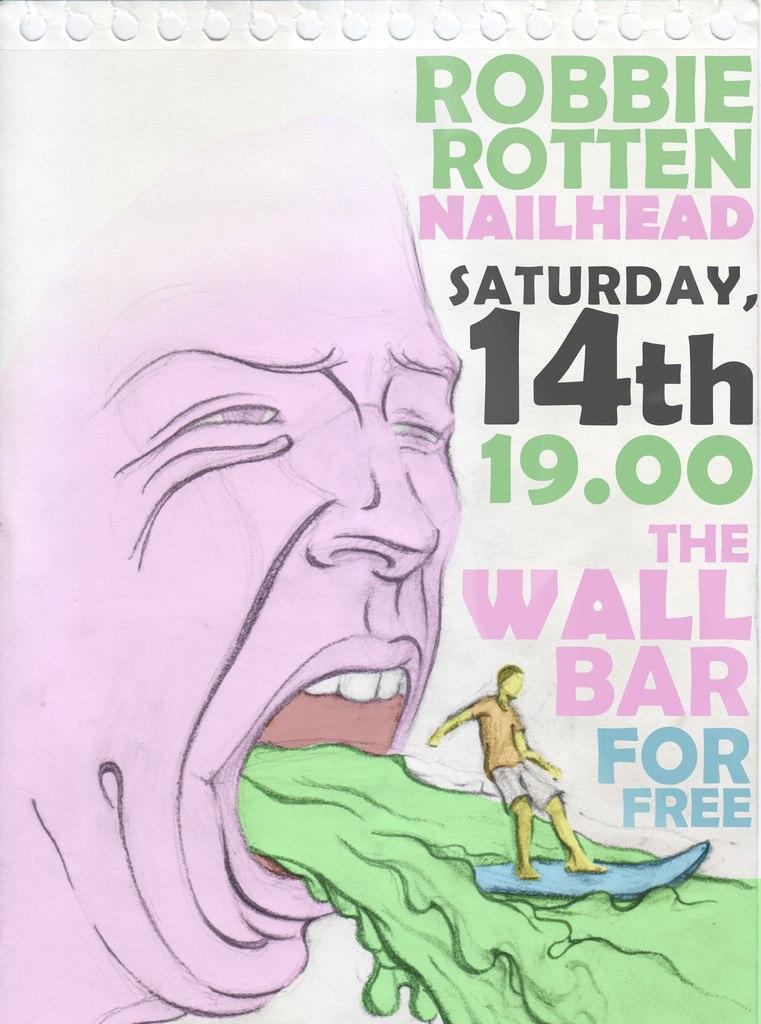 14.12 Nailhead + Robbie Rotten в WALL-баре