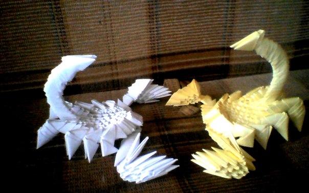 Модульное оригами (схемы) в