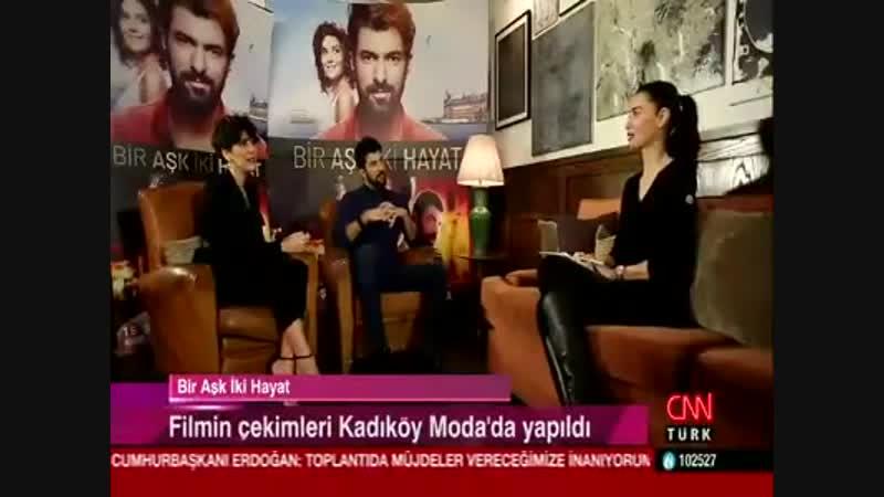 Интервью Бергюзар и Энгина на CNN Turk