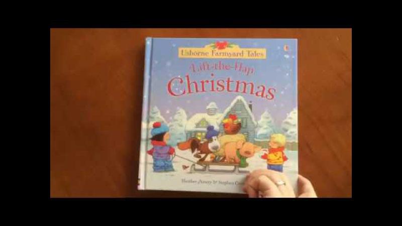 Farmyard Tales lift-the-flap Christmas - Usborne