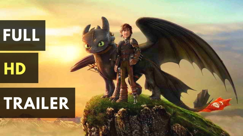 Как приручить дракона 3 (2019) дублированный трейлер