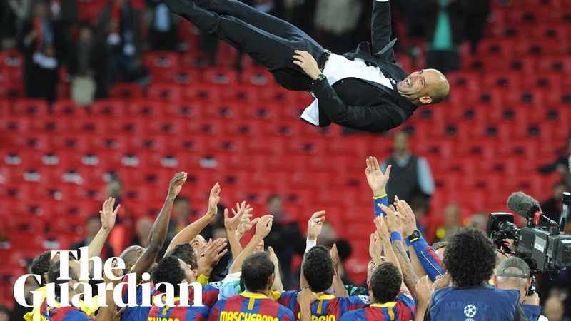 Take The Ball, Pass The Ball trailer for documentary on Barcelonas Guardiola years