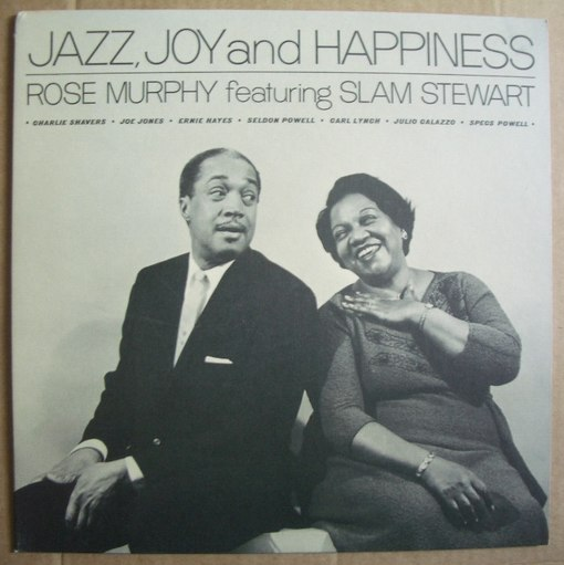 rose murphy - jazz, joy and happiness