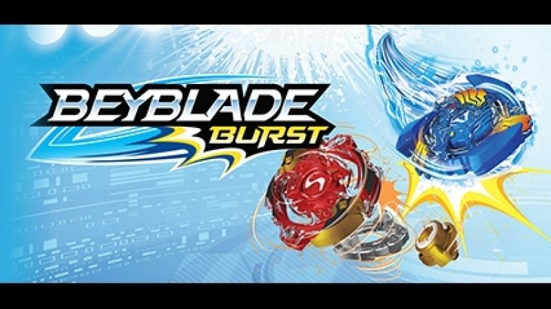 Набор Бейблэйд Вибух с ареной, Волтраек и Спрайзен с запускными устройствами Beyblade Burst от HASBRO