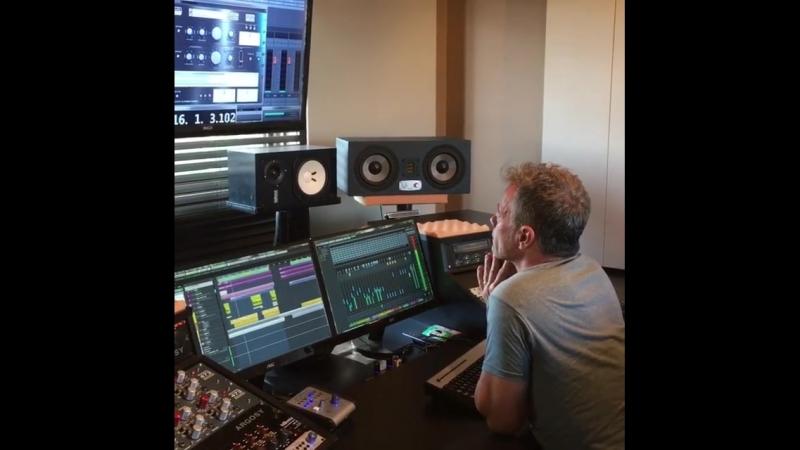 Bruno_pelletier_officiel Session d'écoute avec brigittem_official pour son prochain album