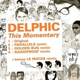 Delphic альбом Kitsuné: This Momentary (Bonus Track Version) - EP