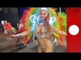 Samba! Rio's extravagant Carnival in full swing