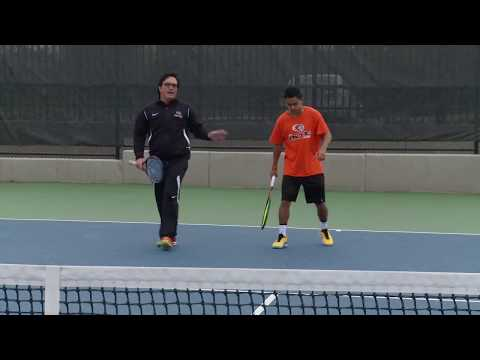 Tennis Tips - Moving to the Net to Hit a Volley - Coach Ryan Redondo