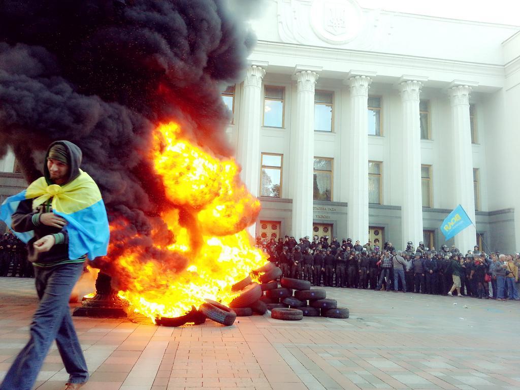 протест Украина