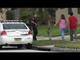 Полиция и пожарная возле нашего дома | Орландо, США