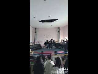 Bts [doing a run bts episode at an amusement park] - - jungkook