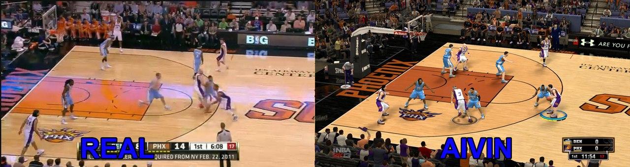 Новая арена для Феникс Санс в НБА2К13