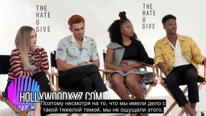 2018 › интервью для портала Hollywood XYZ › 8 сентября русские субтитры