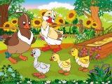 Английский для Детей. Сказка - Гадкий Утенок  The Ugly Duckling tale