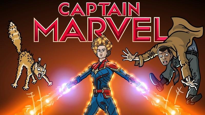 Captain Marvel Trailer Spoof TOON SANDWICH