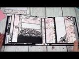 Prima Cherry Blossom 5 Page Mini Album