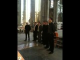 Doros choir from Russia performing in Carcassonne
