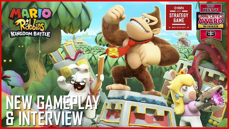 Mario Rabbids: Donkey Kong's Adventure | New Gameplay Details and Interview | Ubisoft [NA]