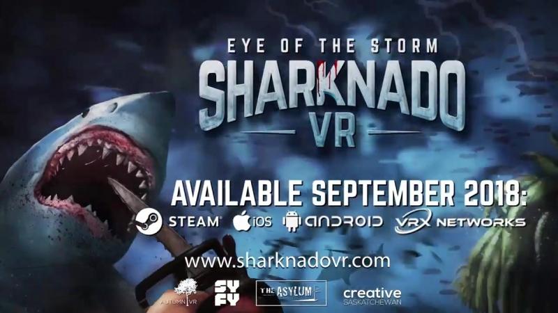 PSVR Sharknado - VR GAMECLUB Хабаровск