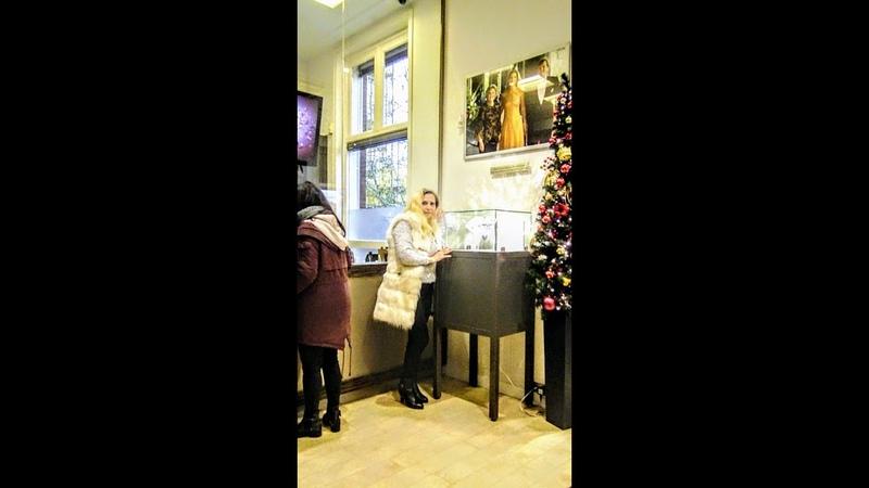 С алмазами в Амстердаме Елизавета Романова-жена Президента РФ В.В.Путина в Новом 2019 году!