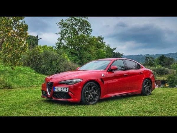 Убийца BMW М3 и AMG C63 Alfa Romeo Giulia Quadrifoglio