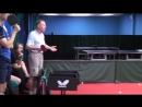 Уроки настольного тенниса на Новой Риге. Урок 5