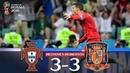 Relato emocionante Nuno Matos | Portugal 3-3 Espanha | Cristiano Ronaldo Hat-Trick
