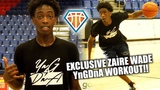 Zaire Wade OFFICIAL YngDnA Workout!! Son of NBA LEGEND is PUTTING IN WORK