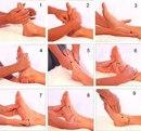 Как делать массаж стоп?