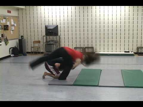 Unarmed Stage Combat - Emily and Phil