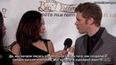 [RUS SUB] Joseph Morgan and Persia White at the 2018 Westfield International Film Festival