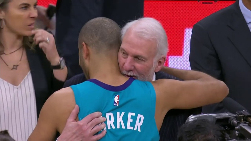 Charlotte Hornets vs San Antonio Spurs : January 14, 2019