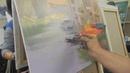 Игорь Сахаров, живопись мастихином, уроки рисования маслом